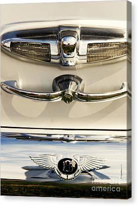 Bentley Details Canvas Print