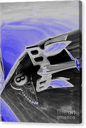 Bentley Canvas Print by Trevor Fellows