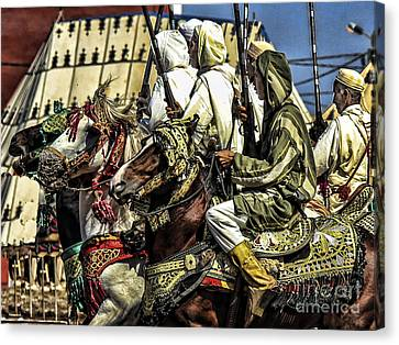 Berber Soldiers Canvas Print
