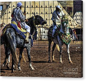 Berbers Morocco Canvas Print by Chuck Kuhn