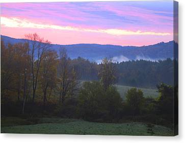 Berkshires Sunrise Canvas Print by Todd Breitling