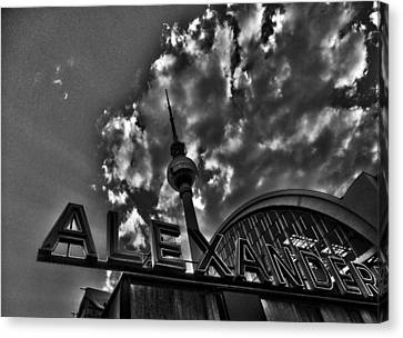 Berlin Alexanderplatz Canvas Print by Juergen Weiss