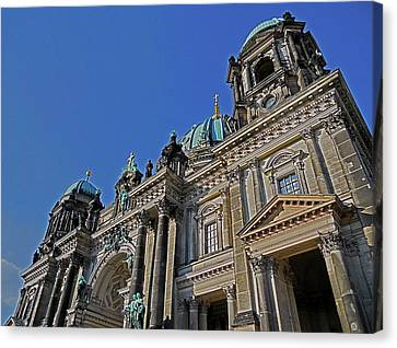 Berlin Cathedral Canvas Print by Juergen Weiss