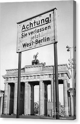 Berlin Canvas Print by Photo Researchers, Inc.