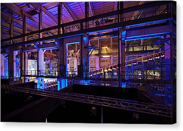 Berlin Powerhouse Event Canvas Print by Mike Reid