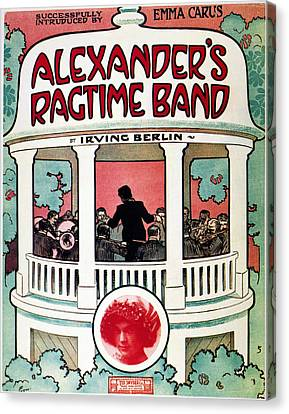 Berlin: Ragtime Band, 1911 Canvas Print by Granger
