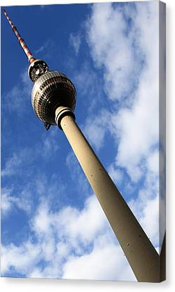 Berlin Television Tower Picture Canvas Print by Falko Follert