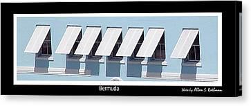 Bermuda Windows Canvas Print