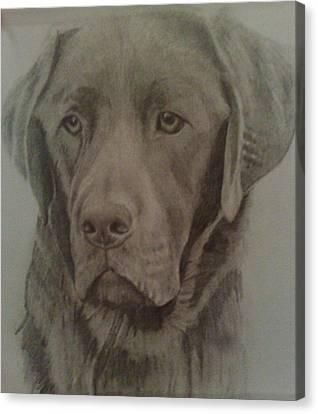 Best Friend Canvas Print by Susan  Solak
