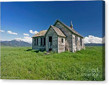 Canvas Print featuring the photograph Better Days by Mitch Shindelbower