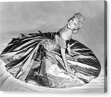 Betty Hutton, 1942 Canvas Print