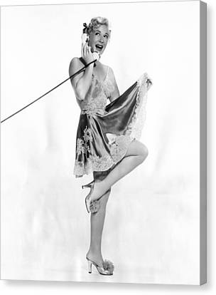 Betty Hutton, Ca. Early 1950s Canvas Print by Everett