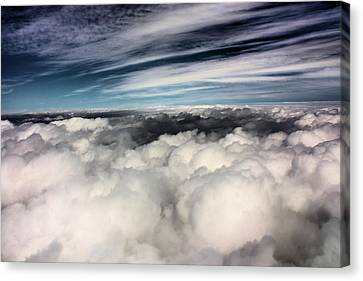 Between Heaven And A Soft Place Canvas Print by Kristin Elmquist