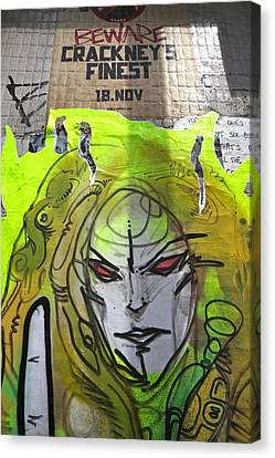 Beware Of Me Canvas Print by Jez C Self
