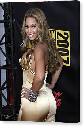 Beyonce Knowles Wearing Her Own Label Canvas Print by Everett