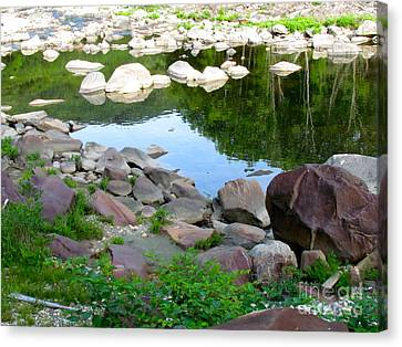 Canvas Print - Beyond The Potholes by Randi Shenkman