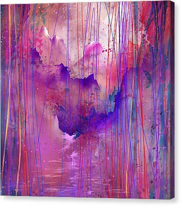 Beyond The Tears Canvas Print by Rachel Christine Nowicki