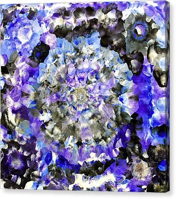 Cosmic Space Canvas Print - Bhramastr by Sumit Mehndiratta