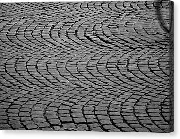 Bicycle Ripples Canvas Print