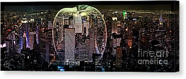 Big Apple Canvas Print by The DigArtisT