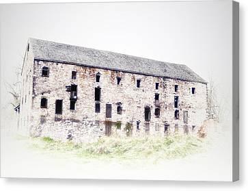 Big Ass Barn Canvas Print by Bill Cannon