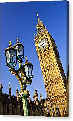 Big Ben And Palace Of Westminster Canvas Print
