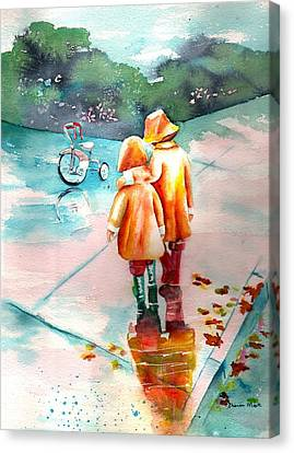 Big Brother Canvas Print by Sharon Mick