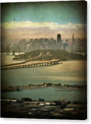 Big City Dreams Canvas Print by Laurie Search