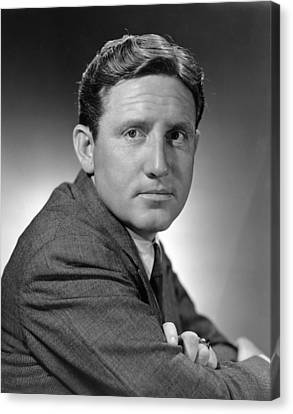 Big City, Spencer Tracy, 1937 Canvas Print by Everett