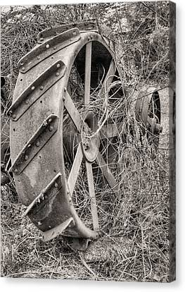 Big Iron Canvas Print by JC Findley