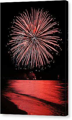 Big Red Canvas Print by Bill Pevlor