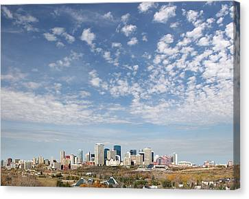 Big Sky Yeg Canvas Print by Stan Kwong