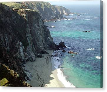 Big Sur California Canvas Print - Big Sur by Armand Cabrera