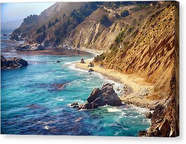 Big Sur Coastline Canvas Print