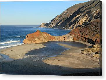 Canvas Print featuring the photograph Big Sur by Scott Rackers
