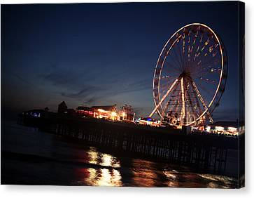 Big Wheel Canvas Print by Aetherial Pictography