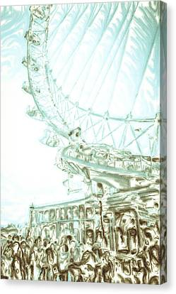 Big Wheel Canvas Print by Tom Gowanlock