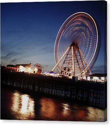 Big Whell In Motion Canvas Print by Aetherial Pictography
