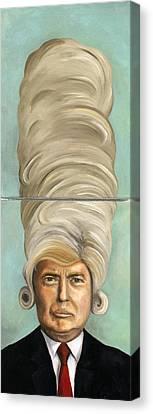 Big Wig Canvas Print by Leah Saulnier The Painting Maniac