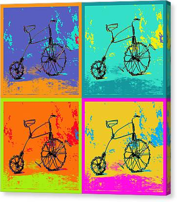 Bike 1b Canvas Print by Mauro Celotti