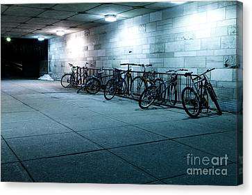 Bikes Canvas Print by Igor Kislev