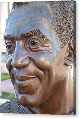 Bill Cosby Bust I Canvas Print by Jeff Lowe