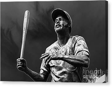 Billy Williams - H O F Canvas Print by David Bearden