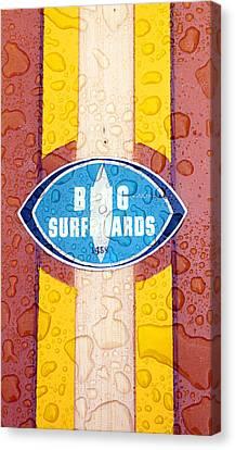 Bing Surfboards Canvas Print by Ron Regalado