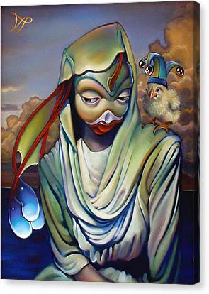 Binky's Mistress Canvas Print by Patrick Anthony Pierson