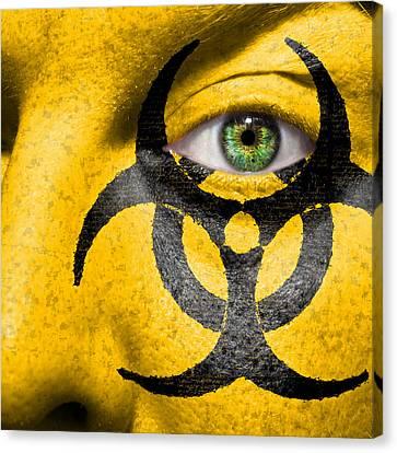 Biohazard Canvas Print by Semmick Photo
