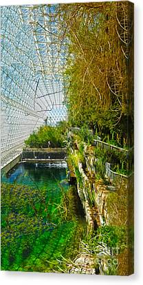 Biosphere2 - Environment 1 Canvas Print by Gregory Dyer