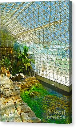 Biosphere2 - Environment 2 Canvas Print by Gregory Dyer