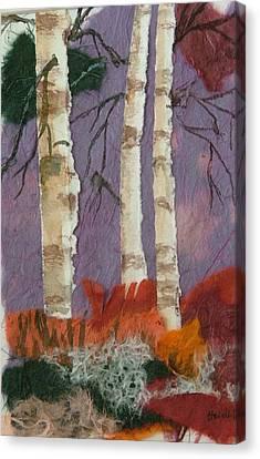Birch Trio Canvas Print