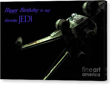 Birthday Card Canvas Print